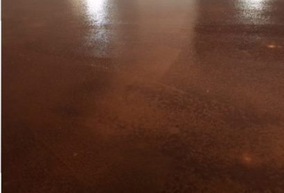 stained concrete ok