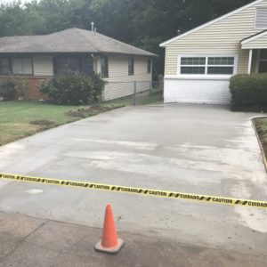 Broken Arrow Concrete Driveway Contractor
