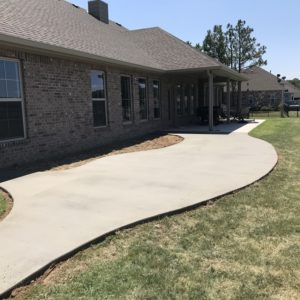 Concrete Patio Installation Tulsa Oklahoma