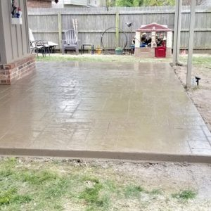 Concrete Installation in Tulsa OK.