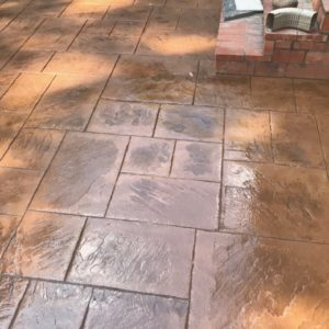 Stamped and Stained Concrete Company Broken Arrow OK