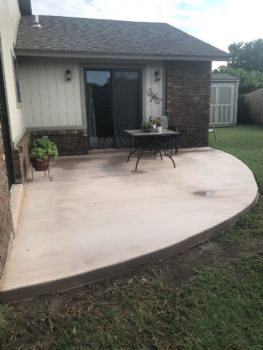 Concrete Patio Installers Broken Arrow Oklahoma