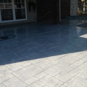 Stained and Stamped Patio Contractor Broken Arrow OK
