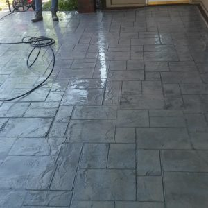 Stamped and Stained Concrete Broken Arrow OK